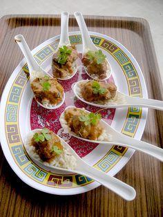Asian Spoon Appetizers