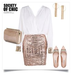 """""""SHOP - Society of Chic"""" by societyofchic ❤ liked on Polyvore featuring Miu Miu, Jimmy Choo, women's clothing, women, female, woman, misses and juniors"""