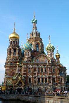 The Church of the Savior on Spilled Blood was built on the site where Tsar Alexander II was assassinated and was dedicated in his memory in St. Petersburg.   #monogramsvacation