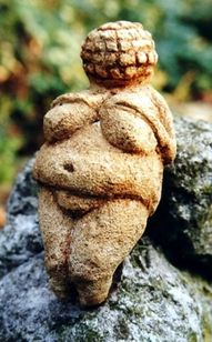 The famous Willendorf Venus. (Between 24,000 and 22,000 BCE.)