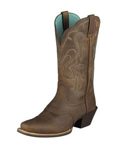 Ariat Women's Legend Boot - Distressed Brown. I am so going to get these when I book my next bride!  Motivation to work, work, work.