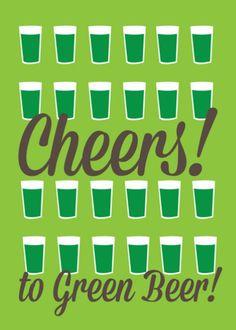 Patricks Day Theme Backdrop Green Beer Cheers Festival Celebration Lucky Shamrocks Irish Clover Leaves Cartoon Saint Patricks Day Photography Background Photo Studio Prop YongFoto 5x3ft Happy St