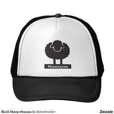 Black Sheep #baaaaa Trucker Hat