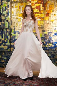 Corsetted Maxi Dress by Patricia Vincent