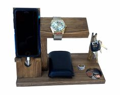 Samsung Galaxy S series Dock Station with Key Holder / Watch Stand / Docking…