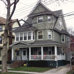 A house in Woodhaven, Queens.