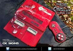 NostalBit: by cksigns1 / chrono edition custom with light mod #retrogaming #SNES #chronotrigger