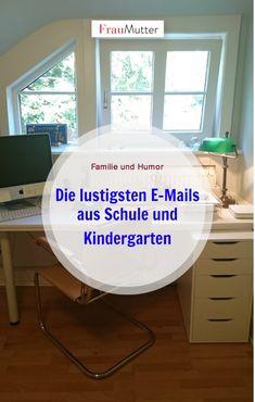 E-Mails aus Schule und Kindergarten machen meistens so richtig Laune, oder? Meistens bekommen wir ja Informationen zu akuter Seuchengefahr. Meine Top 10.