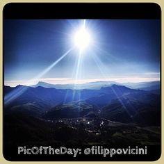 """#PicOfTheDay #turismoer: """"Verso i colli di Romagna"""" - Complimenti e grazie a @filippovicini"""