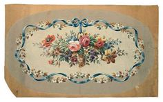 French School, 19th Century - Two Aubusson designs... on MutualArt.com