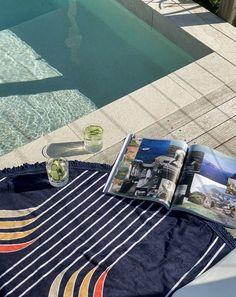 Cocktails by the pool at @helia_house_peregian with our Starboard Roundie The Beach People, Velour Tops, South Of France, Beach Towel, Nautical, Sailing, Scenery, Australia, Adventure