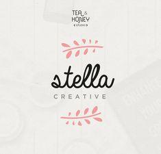 Diseño de logotipos predefinidos femenino por TeaAndHoneyStudio