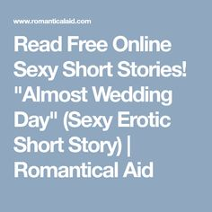 Sorry, erotic online picture story