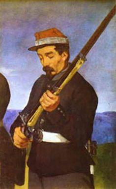The Execution of Maximilian Édouard Manet c. 1867 - Google Search