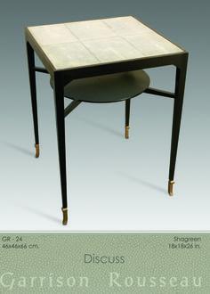 Garrison Rousseau Side Tables » Garrison Rousseau