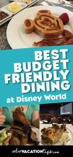 If you're not on the Disney Dining Plan and trying to stick to a budget then you are going to want to take note of these best budget friendly restaurants at Disney World.