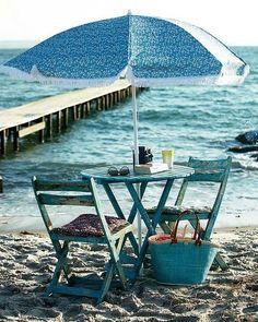 Beach blue....