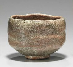 "Chawan named ""Fuku no kami"" (Deity of good fortune). Red Raku ware, Edo period century), by Raku master Tokunyu Old Pottery, Raku Pottery, Glazes For Pottery, Pottery Art, Glazed Pottery, Japanese Ceramics, Japanese Pottery, Uji Matcha, Japanese Tea Ceremony"