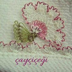 Havlu kenarı çiçek