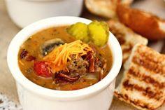 Bacon Mushroom Cheeseburger Soup | Tasty Kitchen: A Happy Recipe Community!