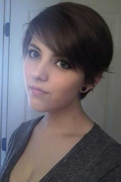 Long Pixie Cut with Bangs - Bing images