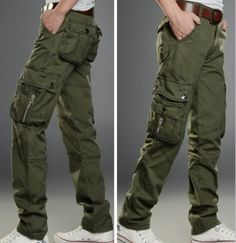 The item is a casual long pants for men. The material is very soft and comfortable. And the design is very fashion. It absolutely can show your personal charm. A perfect option for you, act now.  Note: Apologize that due to the differences between Aisian size and European/USA sizes, please kind...