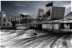 archisketchbook - architecture-sketchbook, a pool of architecture drawings, models and ideas - sliparjepunkecik: Blair Parkinson - urban...