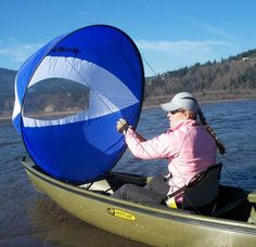 I have this in red, This wind paddle sail is a lot of fun