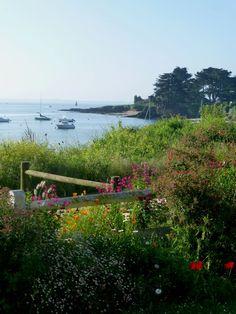 #kervoyal ce matin! délicieuse journée en perspective! Bon dimanche à tous #damgan #morbihan Brittany, Perspective, Photos, River, Outdoor, Twitter, Driveways, Tourism, Places