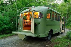 La Maison Boheme: School Bus Conversions