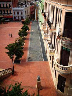 Plaza de la Barandilla, Viejo San Juan, Puerto Rico