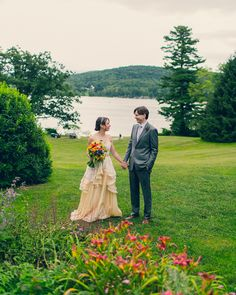 New York Lakeside Wedding