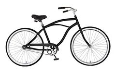 Cycle Force Cruiser Bike, 26 inch Wheels, 18 inch Frame, Men's Bike, Black http://coolbike.us/product/cycle-force-cruiser-bike-26-inch-wheels-18-inch-frame-mens-bike-black/