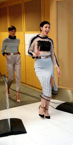 Susanna Carolina Dunn - Final Collection  Nottingham Trent Graduate 2013 Fashion Knitwear Design