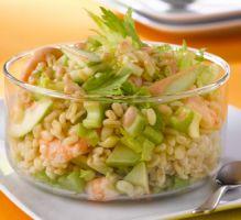 Recette - Salade de blé aux crevettes - Notée 4.2/5 par les internautes