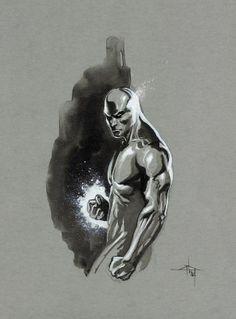 Silver Surfer - Dell'otto  Comic Art