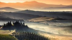 Enchanting Tuscany Landscapes (PHOTOS) - San Quirico d'Orcia - weather.com - by Bosnian photographer Adnan Bubalo in Oct. 2012weather.com