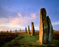 The Ring of Brodgar, Orkney Isles, Scotland