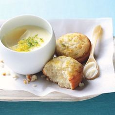 """""""Posset"""" refers to an old English drink made in a way that's similar to this simple pudding. This dessert delivers great results with little effort."""