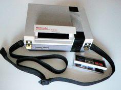 Nintendo shoulder bag & controller wallet