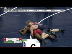 2017 NCAA Wrestling 174lbs: Bo Jordan (Ohio State) vs Josef Johnson (Harvard)