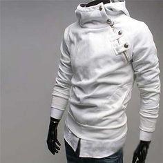 Man Hoodies Assassins Creed Sudaderas Hombre Hoody Men Sport Suit Polo Mens hoodies And Sweatshirts Tracksuit Moleton Masculino Pullover Hoodie, Hoodie Sweatshirts, Sweater Hoodie, Sweater Vests, Sweat Shirt, Mantel, Men Casual, Korean Fashion, Fashion Men