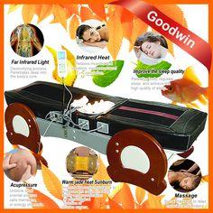 2015 Quality jade roller massage table, half body massage, Jade Massage Bed GW-JT10