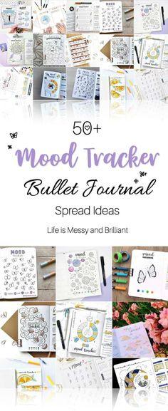 mood tracker, bullet journal mood tracker, bujo mood tracker, #moodtracker #bulletjournal