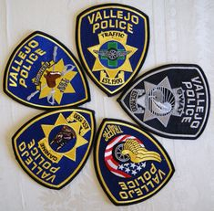 LOS ANGELES CITY CALIFORNIA METRO DIVISION POLICE PATCH