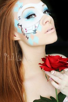 alice in wonderland steampunk makeup - Google Search