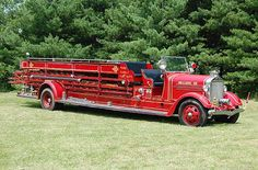 Blairsville, PA - 1937 American LaFrance by kyfireenginephoto, via Flickr