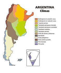 El Clima en Argentina: Clima de Argentina
