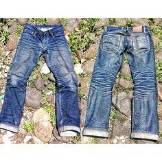 denim  jeans selvedge indigo