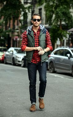 42 comfy winter fashion outfits for men in 2015 mens fall outfits, divattre Mens Fall Outfits, Winter Mode Outfits, Winter Fashion Outfits, Casual Outfits, Plaid Outfits, Men's Outfits, Work Outfits, Winter Fashion 2015, Autumn Fashion